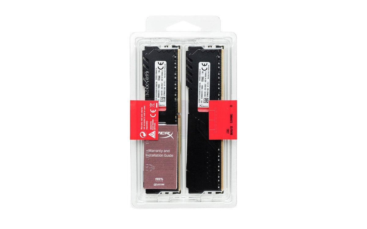 Пам'ять для ПК HyperX DDR4 2666 8GB Fury Black (HX426C16FB3K2/8) фото4