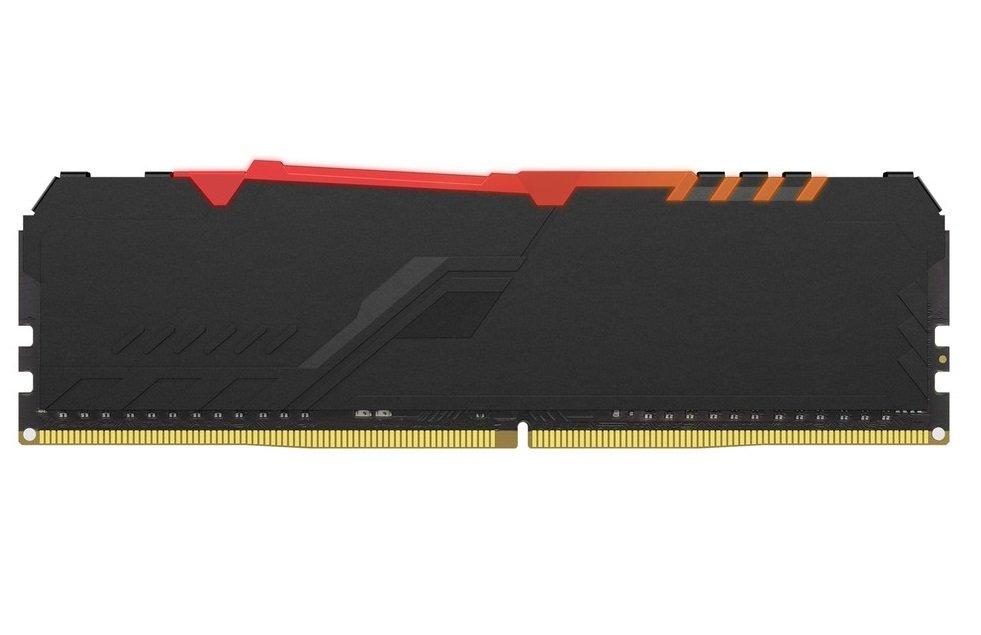 Память для ПК HyperX DDR4 2666 16GB Fury RGB Black (HX426C16FB3A/16) фото 2