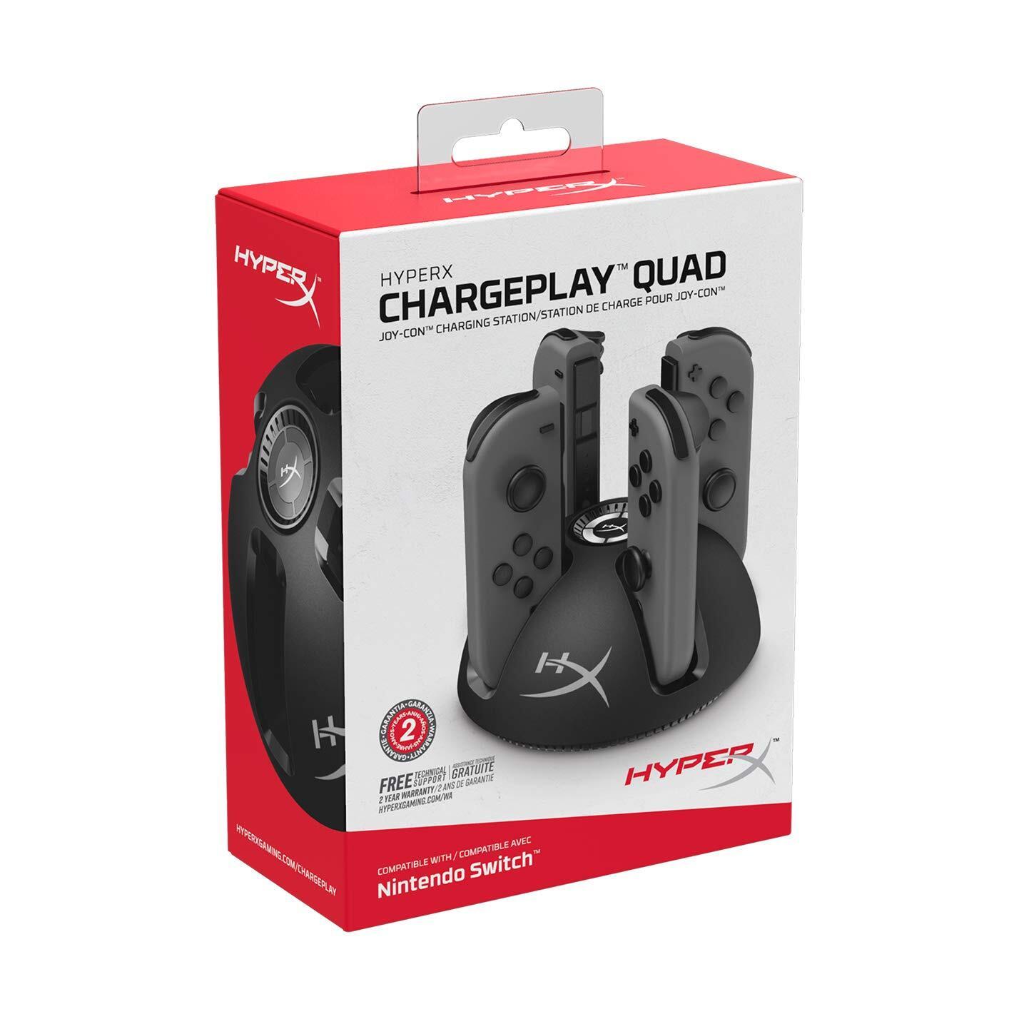 Зарядная станция HyperX ChargePlay Quad для Nintendo Switch (HX-CPQD-U) фото 4