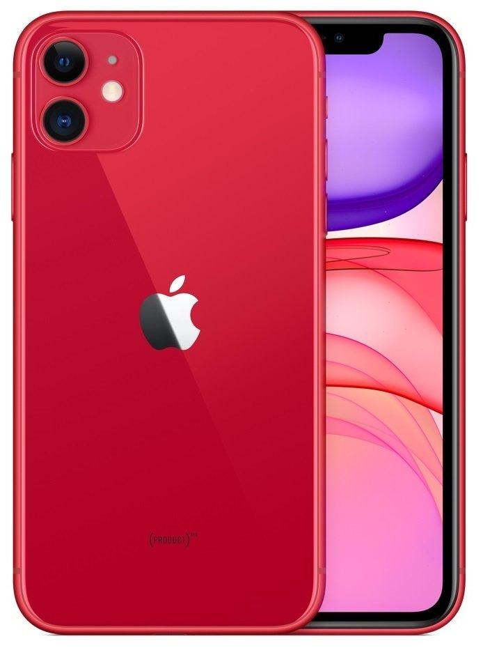 Смартфон Apple iPhone 11 256GB (PRODUCT)RED (slim box) (MHDR3) фото