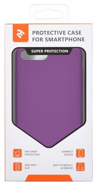 Чeхол 2Е для Apple iPhone 7/8 Plus Liquid Silicone Purple фото 3