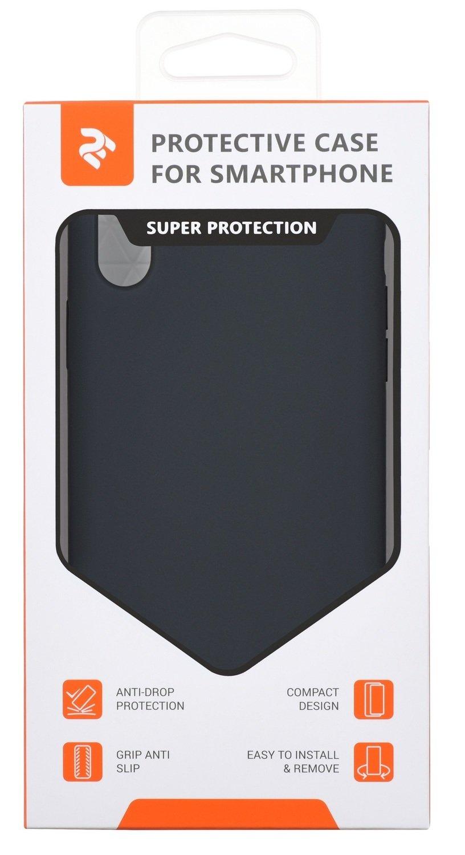Чeхол 2Е для Apple iPhone XR Liquid Silicone Carbon Grey фото 3
