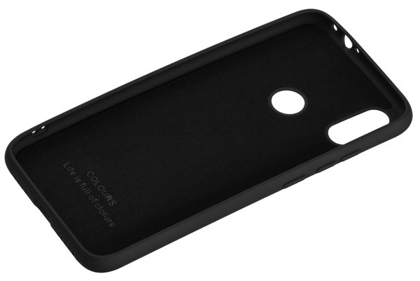 Чехол 2E для Xiaomi Redmi Note 7 Soft Feeling Black фото 2