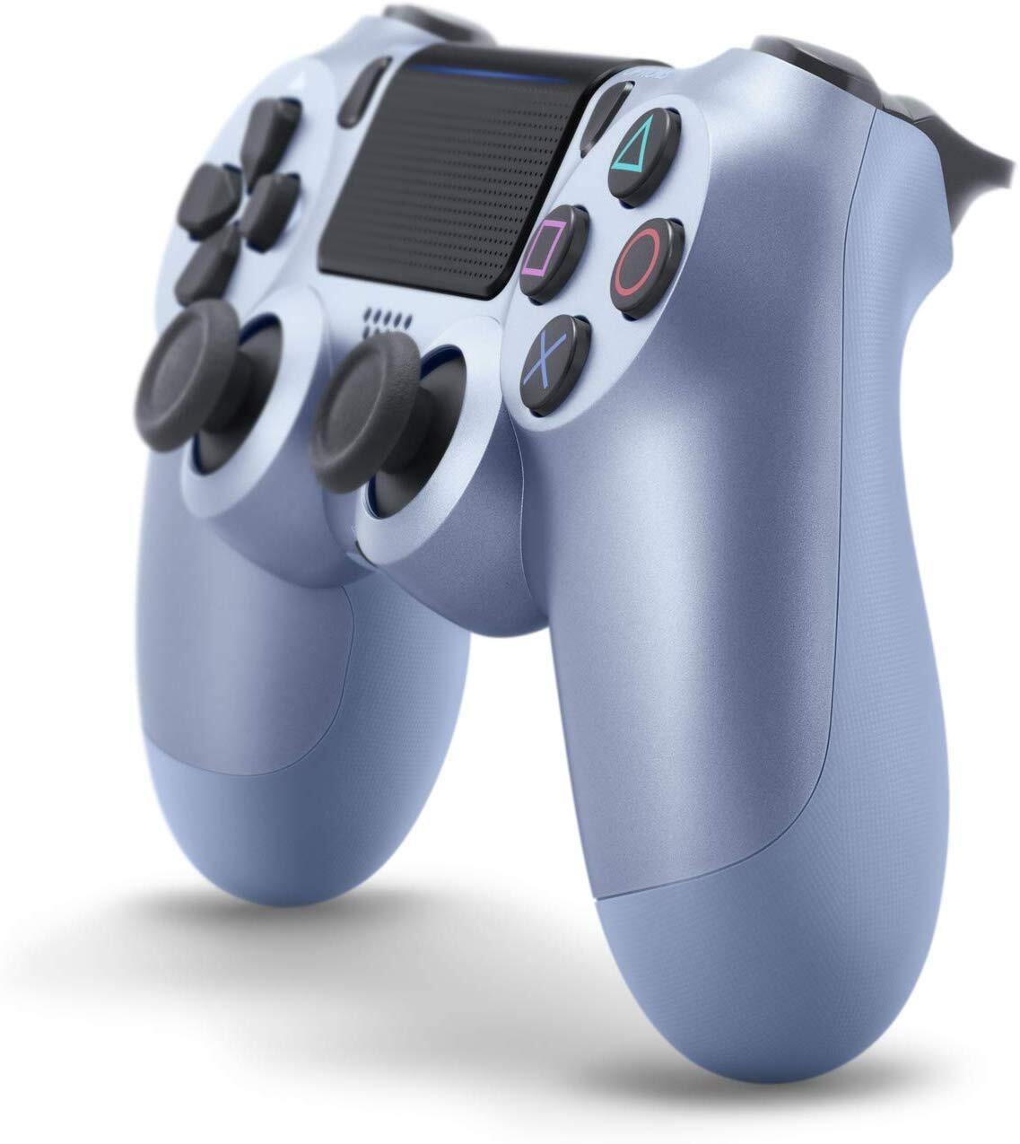 Беспроводной геймпад SONY Dualshock 4 V2 Titanium Blue (9949602) фото 2