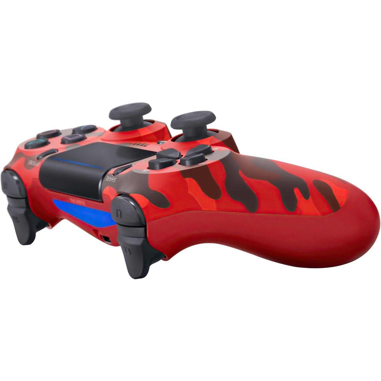 Беспроводной геймпад SONY Dualshock 4 V2 Red Camouflage (9950004) фото 3