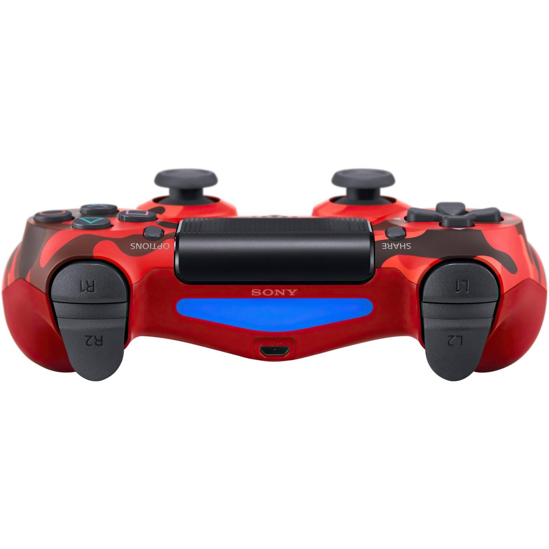 Беспроводной геймпад SONY Dualshock 4 V2 Red Camouflage (9950004) фото 4