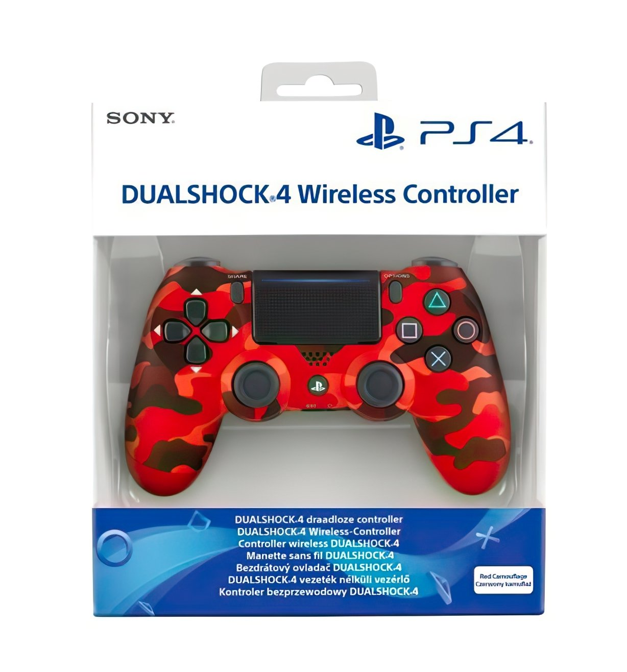 Беспроводной геймпад SONY Dualshock 4 V2 Red Camouflage (9950004) фото 5