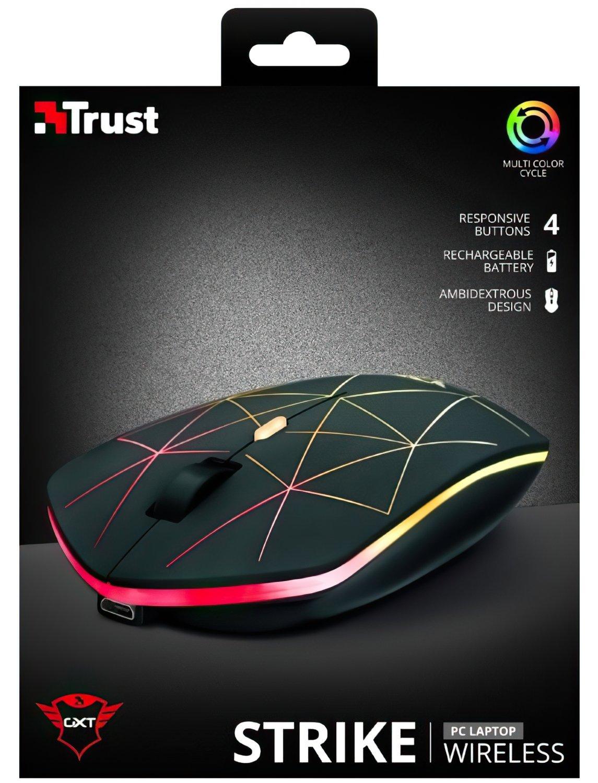 Ігрова миша Trust GXT117 STRIKE WL BLACK (22625_TRUST) фото