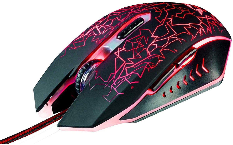 Ігрова миша Trust GXT105 IZZA BLACK (21683) фото