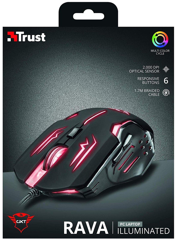 Ігрова миша Trust GXT108 RAVA BLACK (22090_TRUST) фото