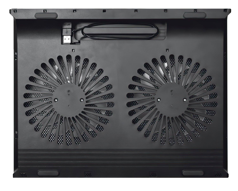 "Підставка для ноутбука Trust Azul (17.3"") Blue Led Black фото4"