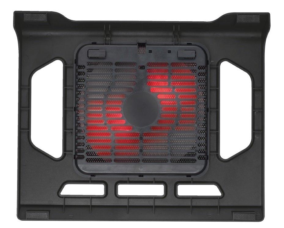"<p>Підставка для ноутбука Trust GXT 220 Kuzo (17.3"" ) Red Led Black</p>фото"