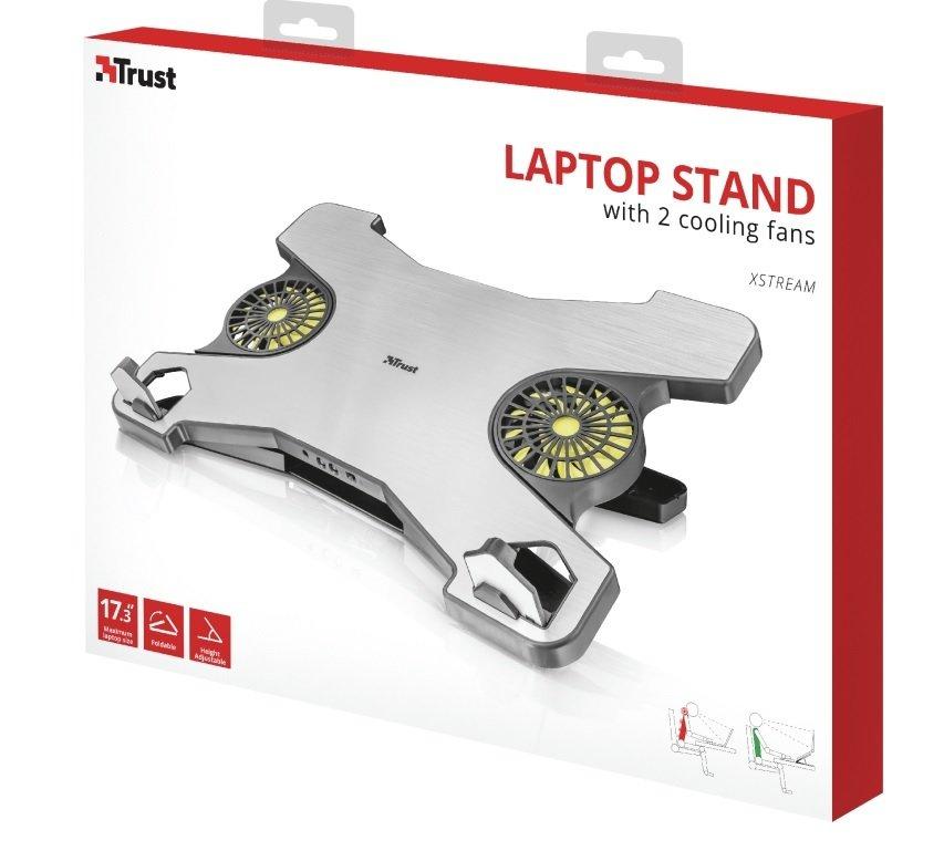 """Підставка для ноутбука Trust Xstream (17.3"""") Silver фото6"""