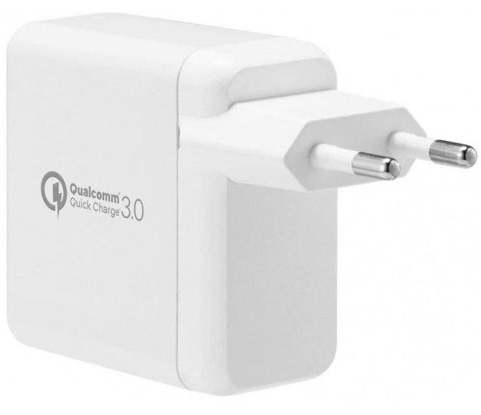 Мережевий зарядний пристрій Spigen Essential F207 Quick Charge 3.0 Wall Charger White фото4
