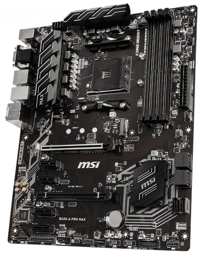 Материнcька плата MSI B450-A PRO MAX фото3