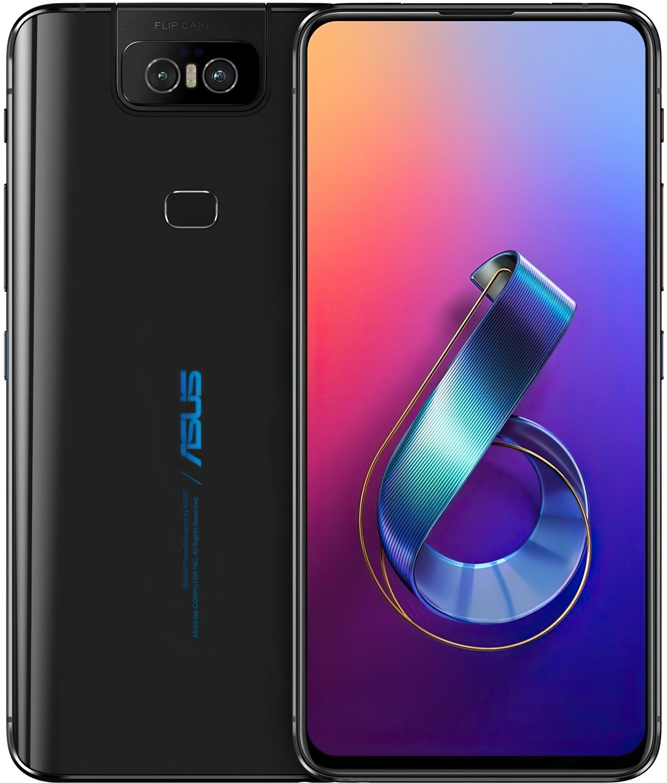 Смартфон Asus ZenFone 6 (ZS630KL-2A031EU) 6/64GB DS Midnight Black фото 6