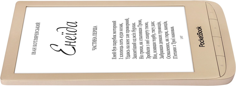 Електронна книга PocketBook 627 Touch Lux 4 LE Matte Gold+чохол фото4