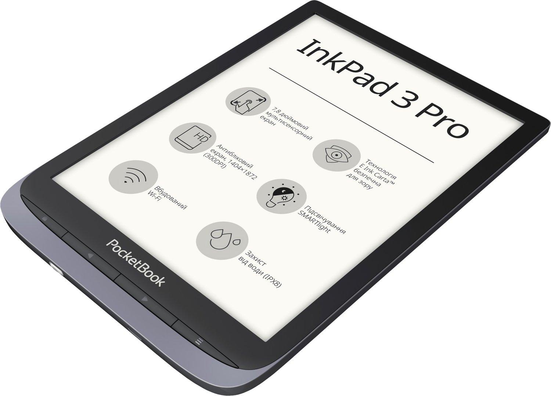 Электронная книга PocketBook 740 Pro Metallic Grey фото 4