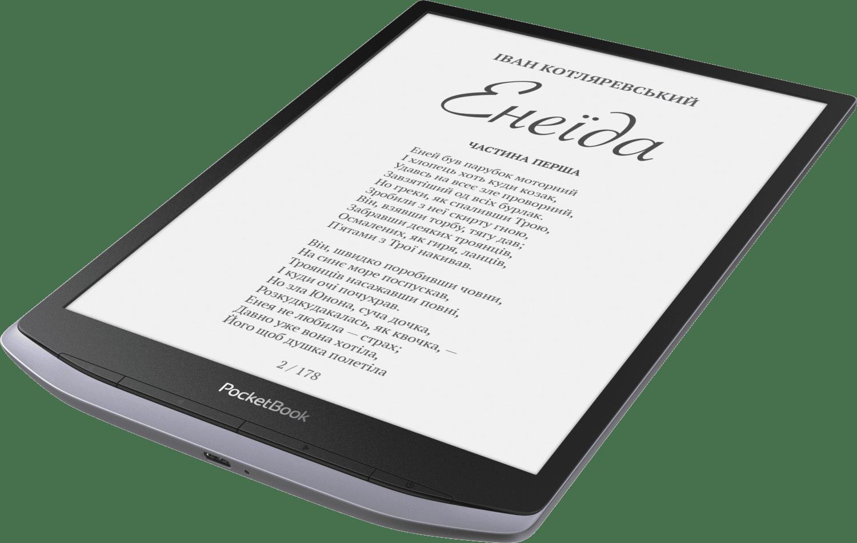 Електронна книга PocketBook InkPad X Metallic Gray фото7