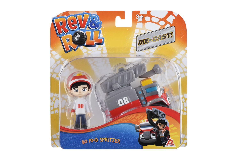 Игровой набор Rev&Roll DieCast Bo & Spritzer (EU881031) фото
