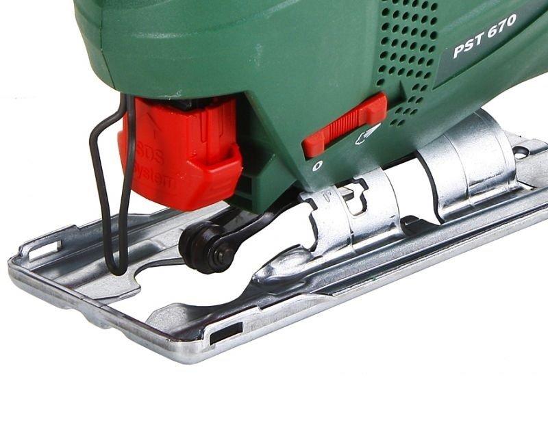 Электролобзик Bosch PST 670, 500Вт (06033A0722) фото