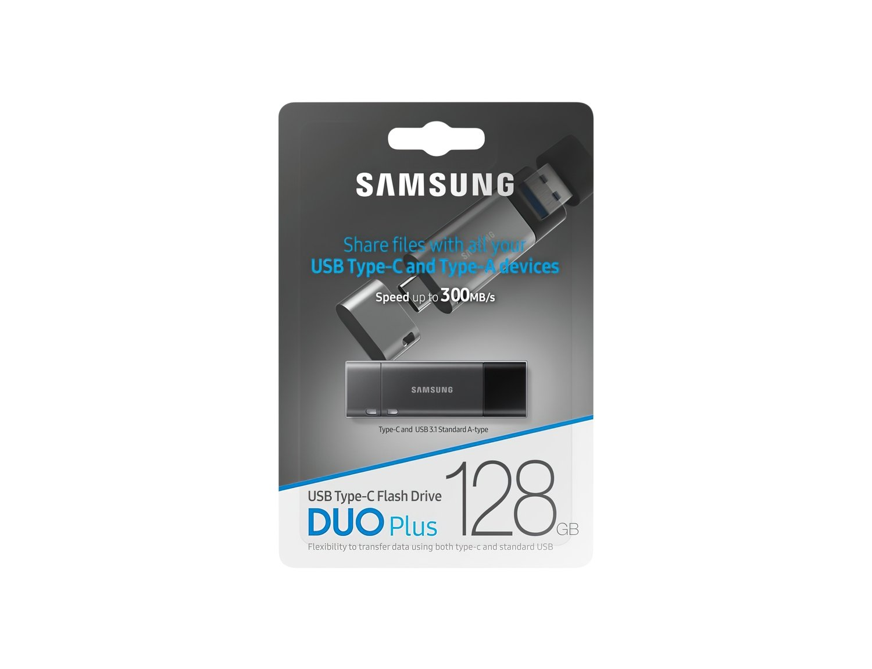 Накопичувач USB 3.1 SAMSUNG DUO Plus 128GB (MUF-128DB/APC) фото