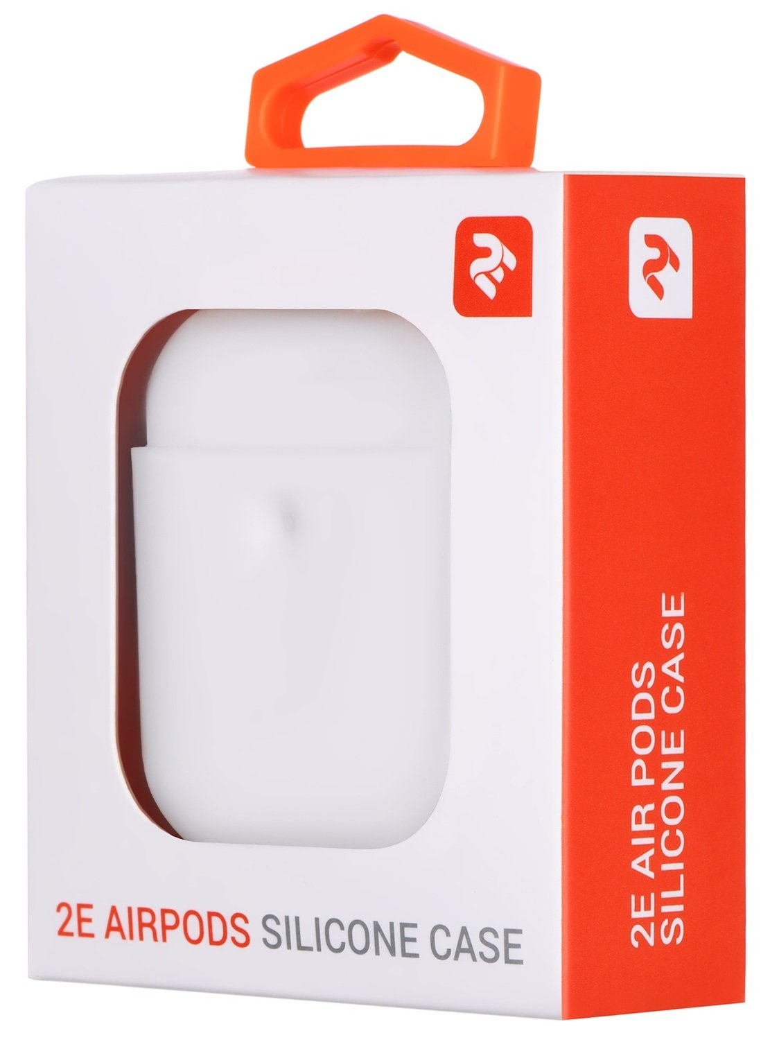 Чехол 2Е для Apple AirPods Pure Color Silicone (3mm) White фото 3