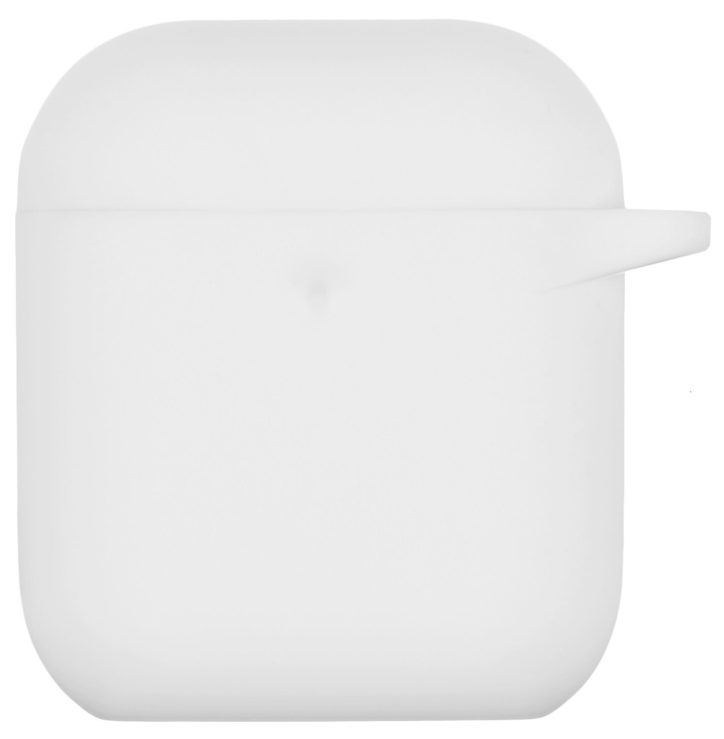 Чехол 2Е для Apple AirPods Pure Color Silicone (3mm) White фото 2