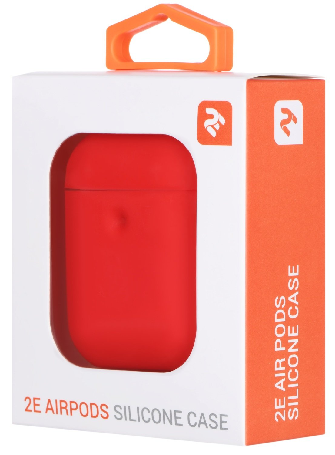 Чехол 2Е для Apple AirPods Pure Color Silicone (3mm) Red фото 3