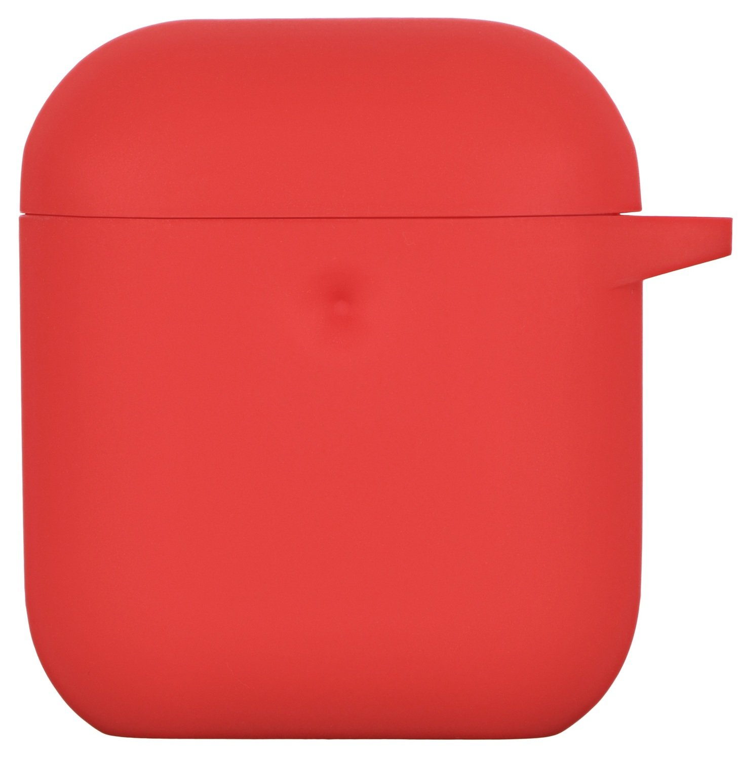 Чехол 2Е для Apple AirPods Pure Color Silicone (3mm) Red фото 2