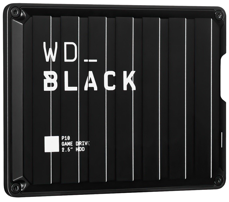 "Жесткий диск 2.5"" WD USB 3.1 P10 4TB Game Drive (WDBA3A0040BBK-WESN) фото"