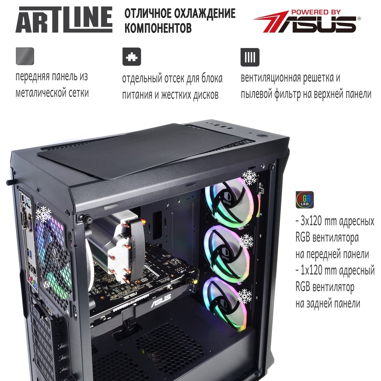 Системний блок ARTLINE Gaming X73 v17 (X73v17) фото2