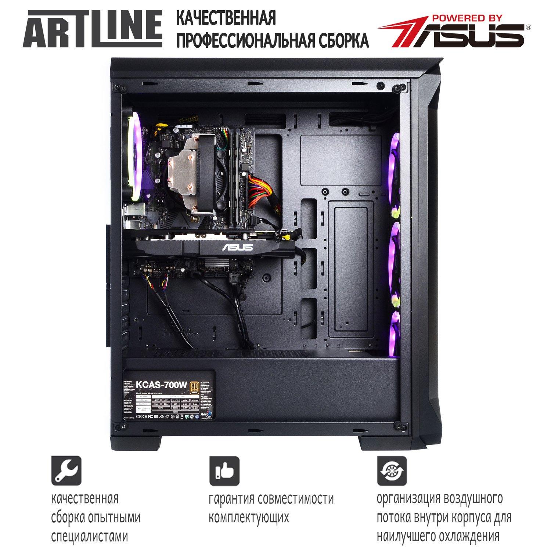 Системний блок ARTLINE Gaming X73 v17 (X73v17) фото4