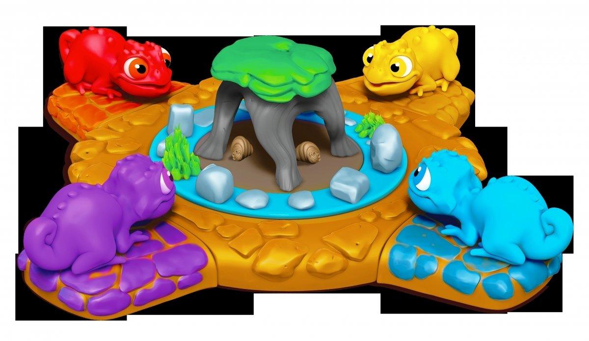Электронная игра Splash Toys Голодные хамелеоны фото