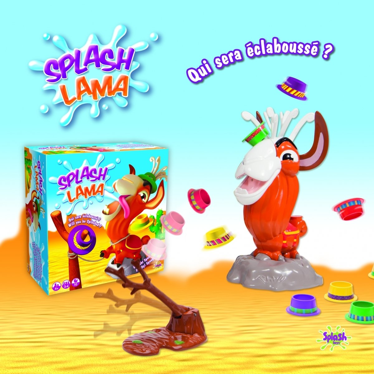 Электронная игра Splash Toys Строптивая лама фото 4
