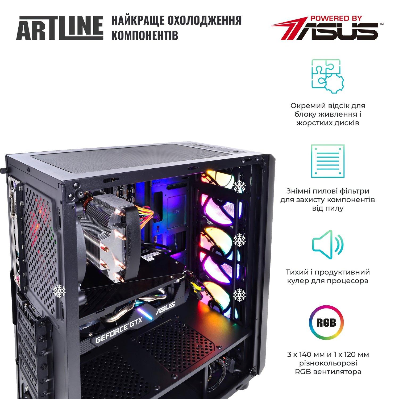 Системний блок ARTLINE Gaming X51 v12 (X51v12) фото8
