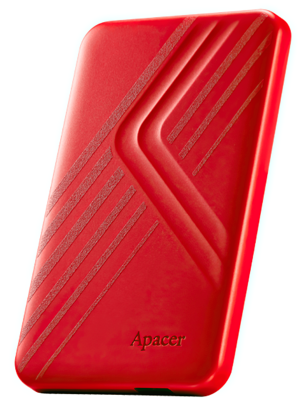 "Жесткий диск APACER 2.5"" USB 3.1 AC236 1TB Red (AP1TBAC236R-1) фото"
