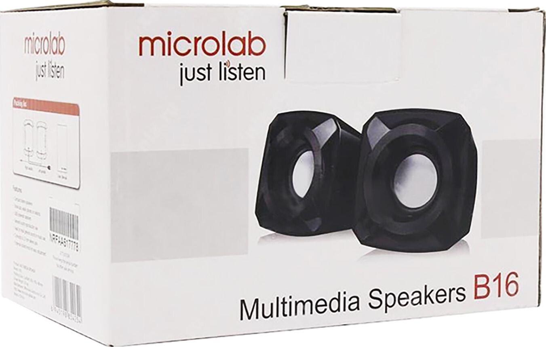 Акустична система 2.0 Microlab B-16 Blackфото6