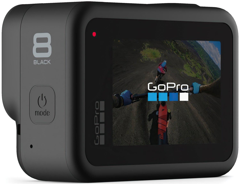 Экшн-камера GoPro HERO8 Black + Rechargeable Battery + Head Strap + QuickClip + Shorty + SD32GB (CHDRB-801) фото