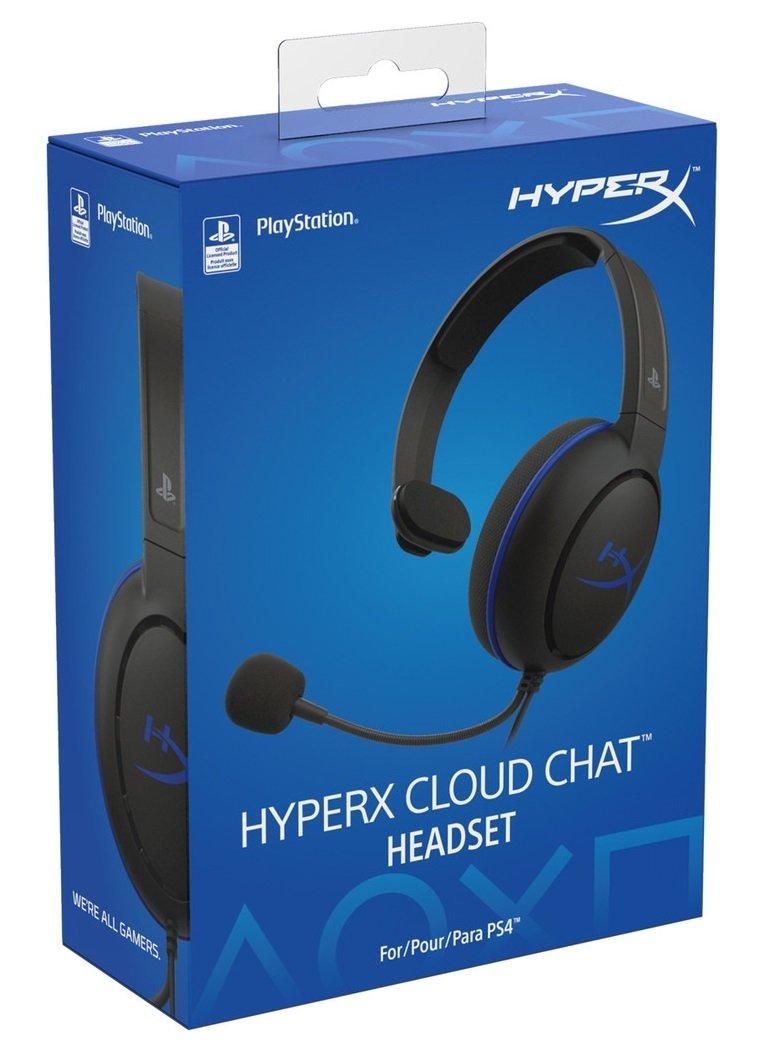 Игровая гарнитура HyperX Cloud Chat для PS4 (HX-HSCCHS-BK/EM) фото 5