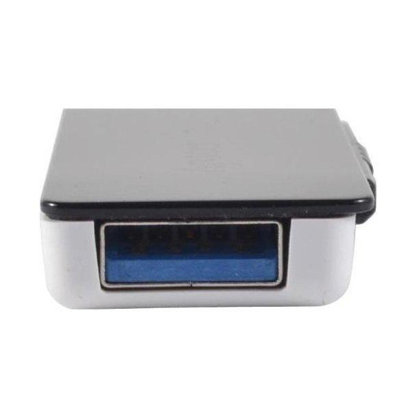 Накопичувач USB 3.1 APACER AH350 128GB Black (AP128GAH350B-1) фото2