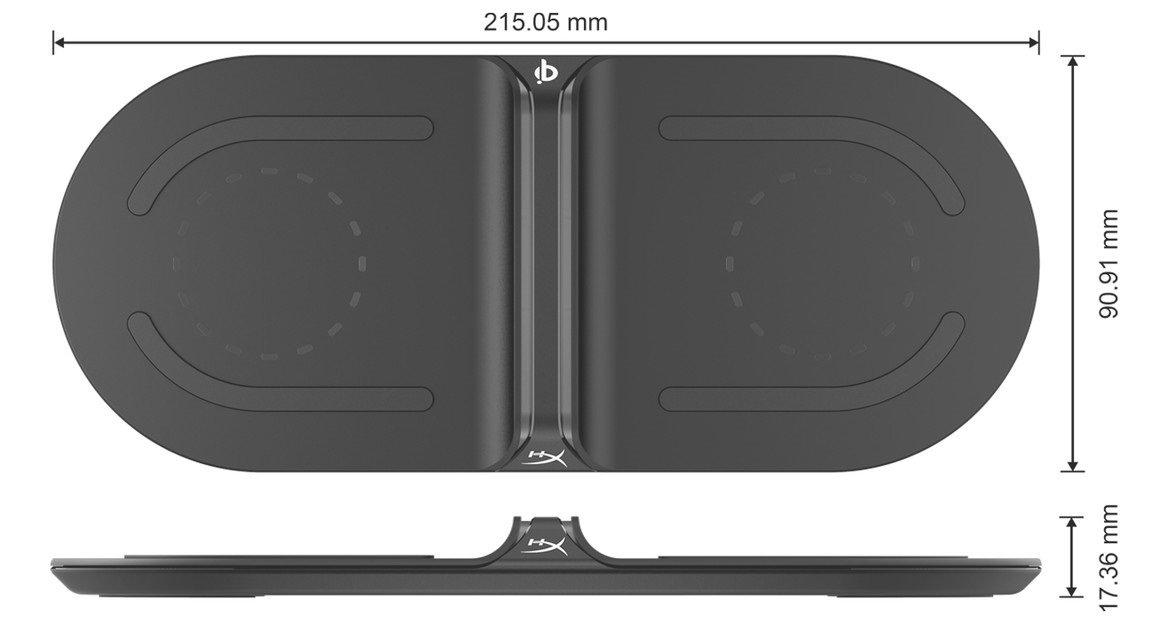 Беспроводное зарядное устройство HyperX ChargePlay Base фото 6