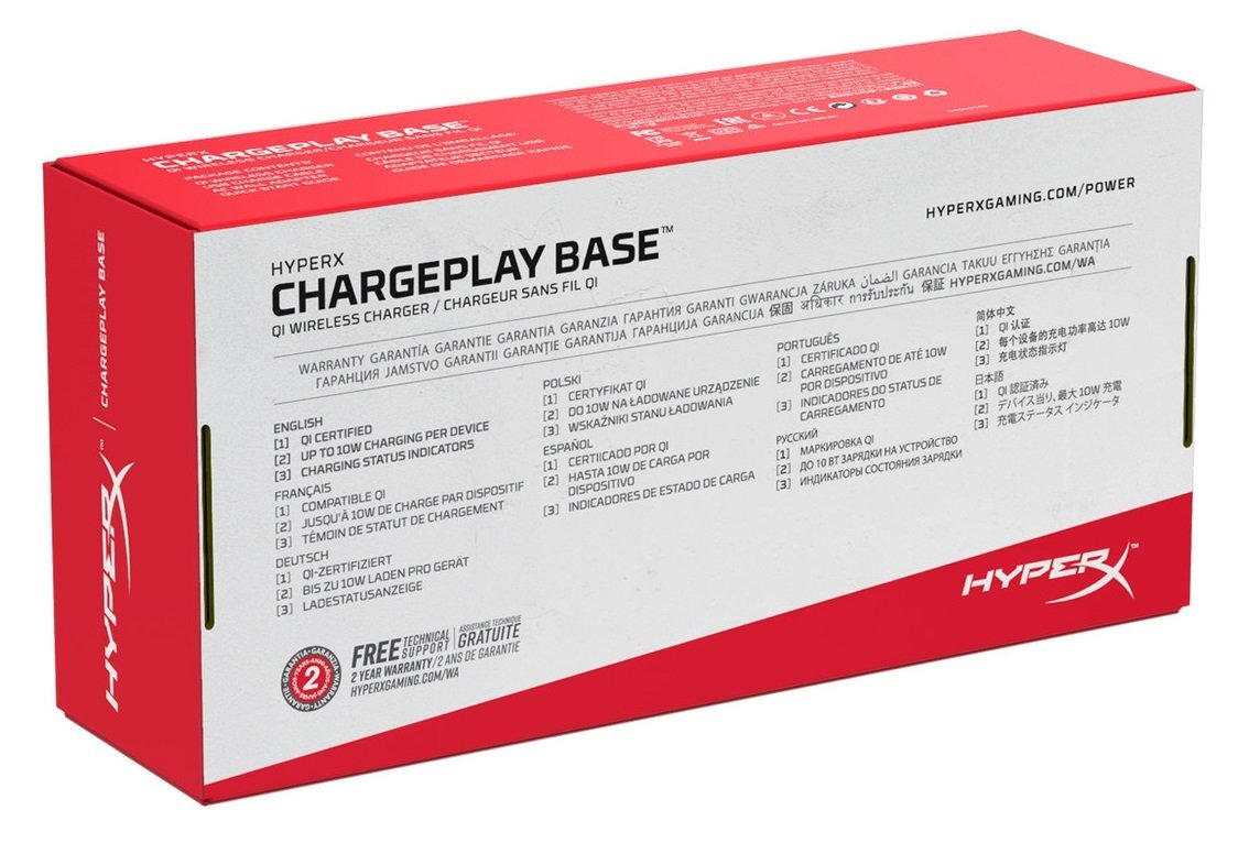 Беспроводное зарядное устройство HyperX ChargePlay Base фото 8