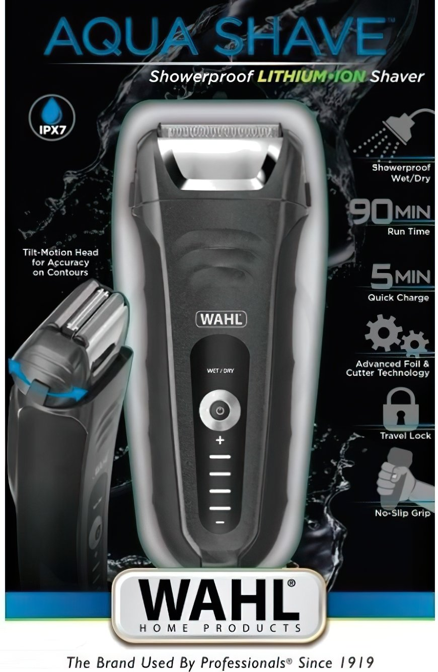 Электробритва MOSER WAHL Aqua Shave 07061-916 фото 4