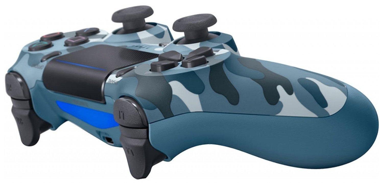 Беспроводной геймпад SONY Dualshock V2 Blue Camouflage для PS4 (9726111) фото 3