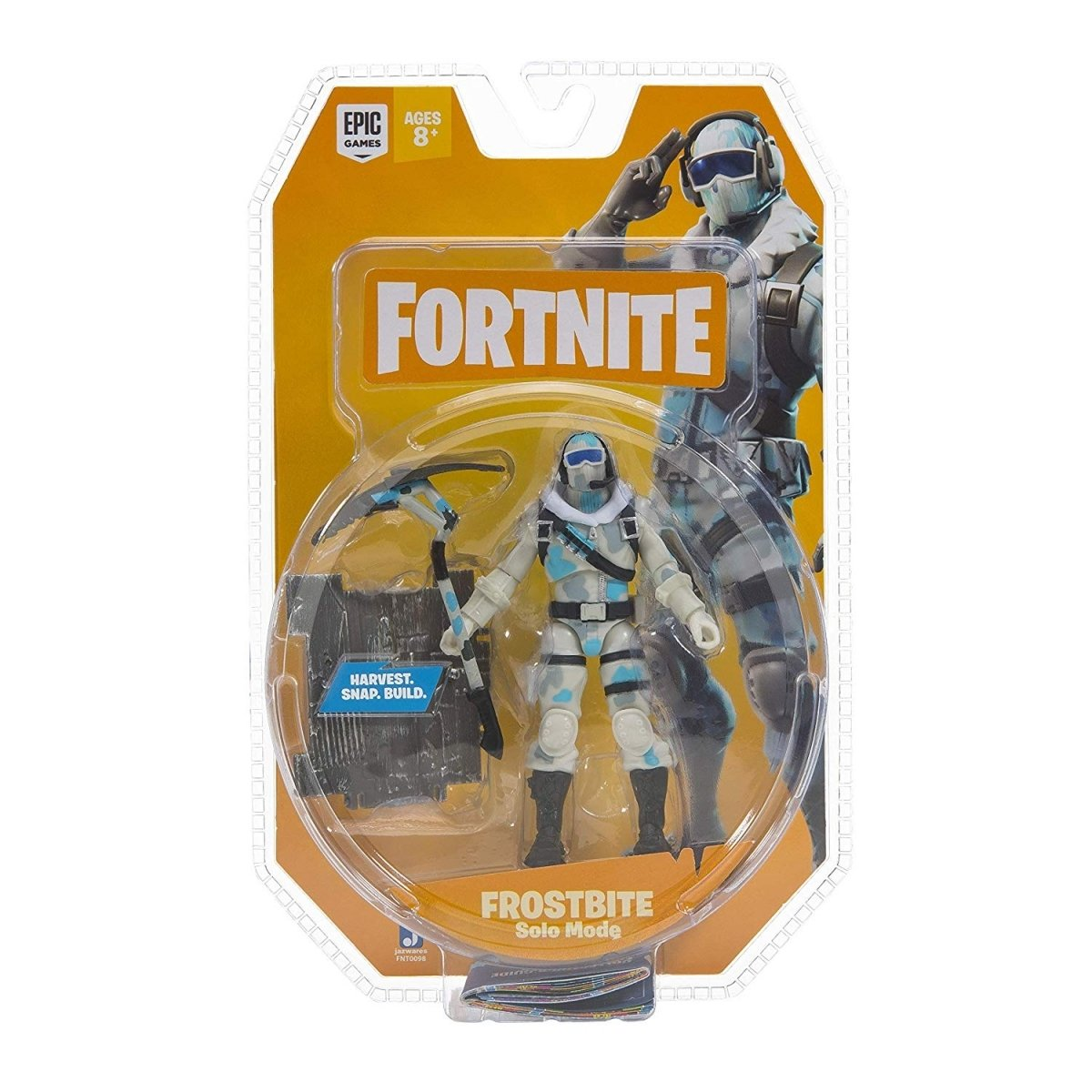 Колекційна фігурка Fortnite Solo Mode Frostbite S3 (FNT0098) фото