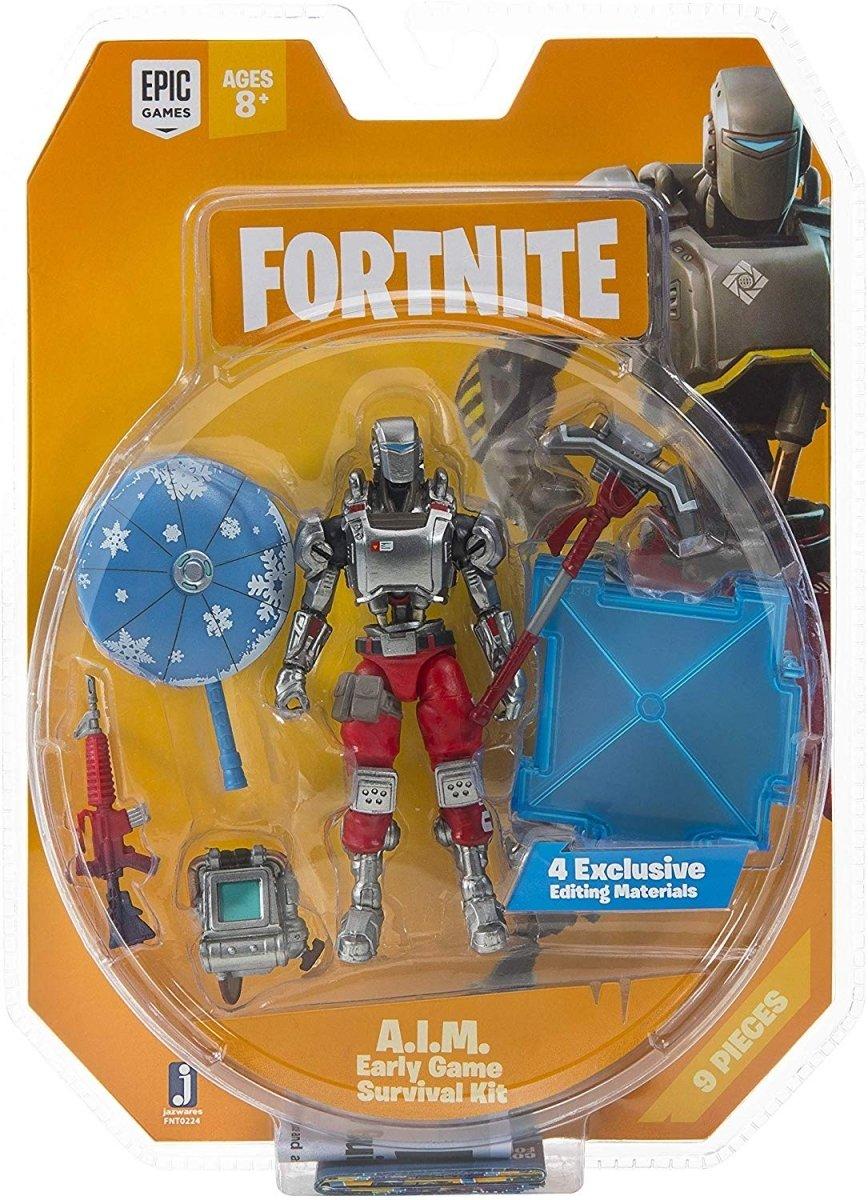 Колекційна фігурка Fortnite Early Game Survival Kit AIM S3 (FNT0224) фото