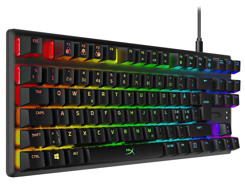 Игровая клавиатура HyperX Alloy Origins Core USB (HX-KB7RDX-RU) фото