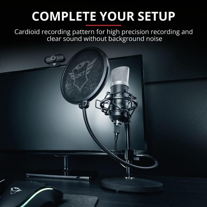 Микрофон Trust GXT 252 Emita Streaming USB фото