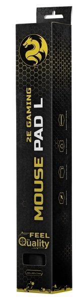 Игровая поверхность 2E Gaming Mouse Pad L Black фото 6